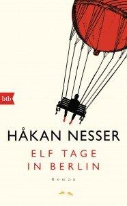 Elf Tage in Berlin von Hakan Nesser - Cover