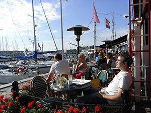 Das Café Bommen in Göteborg
