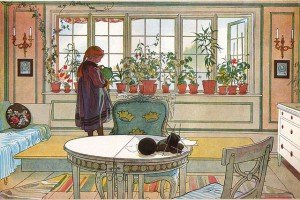 Carl Larsson: Blomsterfönstret, 1894