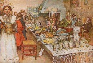Carl Larsson: Julaftonen, 1904