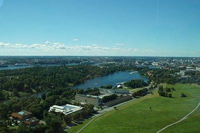 Stockholm ist von Natur gepräg