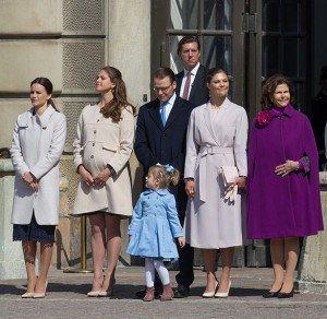Die schwedische Königsfamilie / das schwedische Königshaus