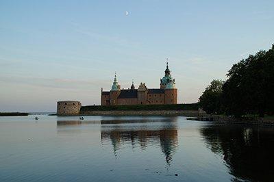 Das Schloss in Kalmar, Småland