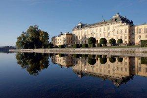 Residenz der schwedischen Königsfamilie - Schloss Drottningholm
