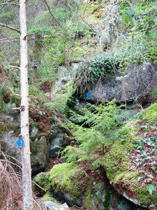 In dieser Höhle bei Virserum soll Nils Dacke versteckt worden sein.