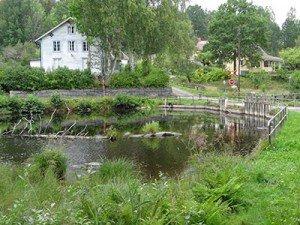Schauplatz der Schlacht bei Virserum zwischen Hjorten und Virserumsee