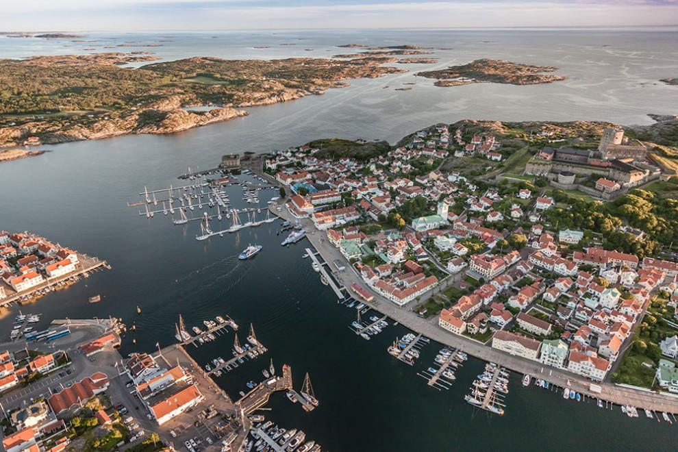 Marstrand von oben