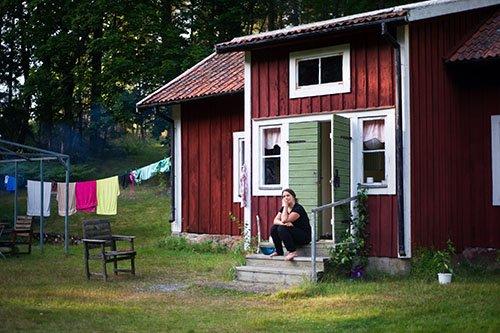Uriges Ferienhaus in Schweden