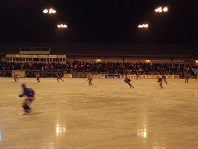 Bandy-Spiel in Falun
