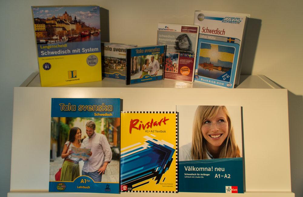 Gewinnspiel: Schwedisch-Lehrbücher