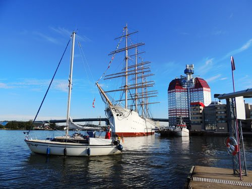 In den Göteborger Schären segeln