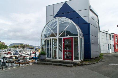 Außenministerium in Torshavn auf den Färöer Inseln
