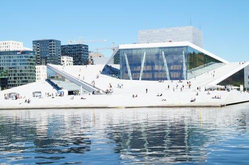 Hauptstädte des Nordens: die Oper in Oslo