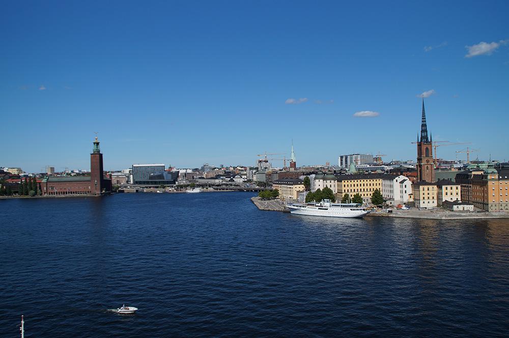 Hauptstädte des Nordens: Gamla Stan und Stadshuset in Stockholm