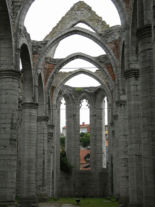 Ruine in Visby, Gotland