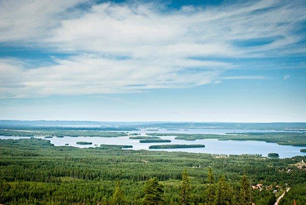 Gilt als das Herz Schwedens: der Siljansee in Dalarna