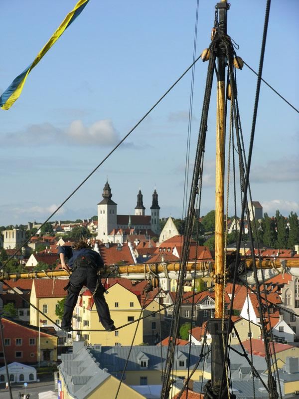 Visby und die Götheborg