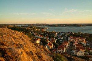 Abenstimmung in Fjällbacka Bohuslän