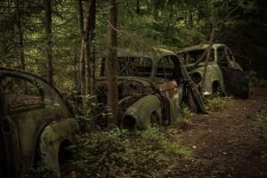 Autofriedhof Kyrkö Mosse