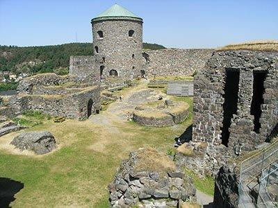 Bohus-Festung bei Kungälv in Bohuslän