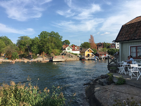 Smultronställe in Vaxholm