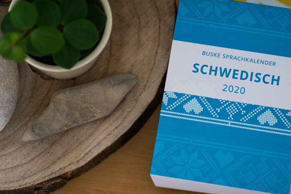 Buske Sprachkalender Schwedisch
