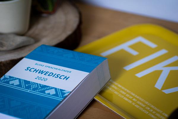 Der Sprachkalender Schwedisch aus dem Buske Verlag