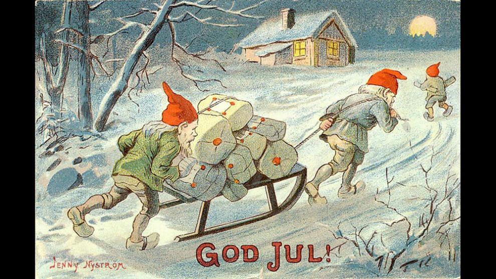 Jenny Nyström God Jul