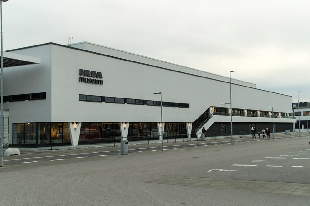 IKEA-Museum in Älmhult, Schweden