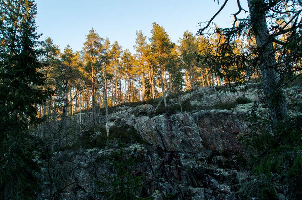 Skurugata in Småland, Schweden