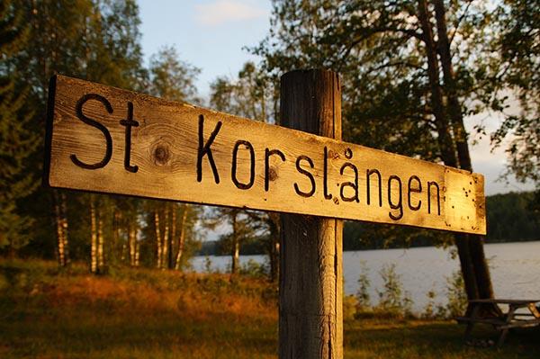 See Stora Korslången in Bergslagen