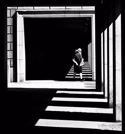 Spiel mit Licht und Schatten, Foto: Saltis77