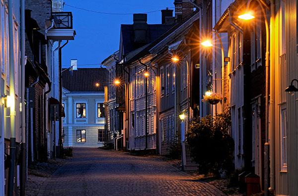Eine der drei Holzstädte Schwedens: Eksjö