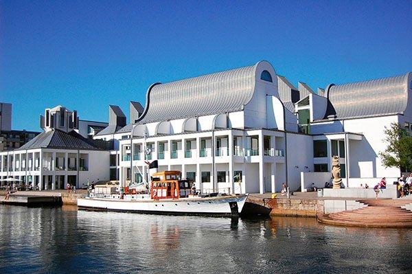 Dunkers Kulturzentrum in Helsingborg