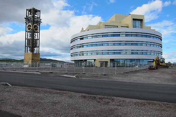 neues Rathaus Kiruna Kristallen