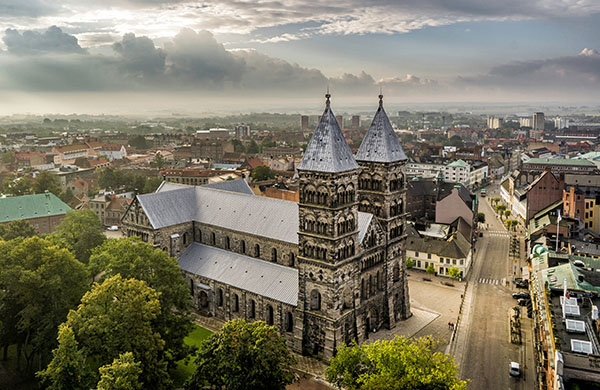 Blick auf den Dom von Lund