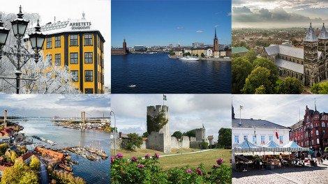 Schwedens schönste Städte