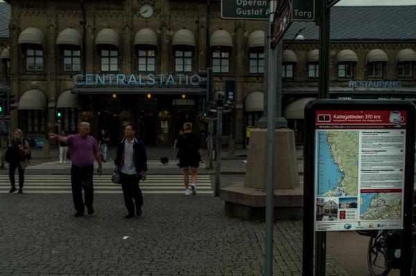 Ziel bzw. Start des Kattegattleden in Göteborg