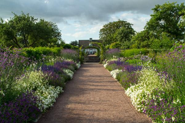 Ein wunderschöner Garten im Sofiero Schlosspark