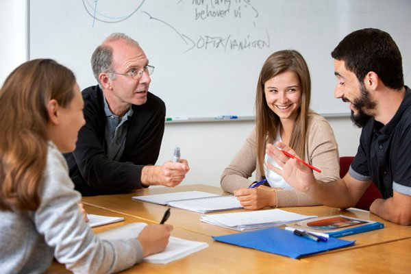 Teamarbeit in der schwedischen Schule