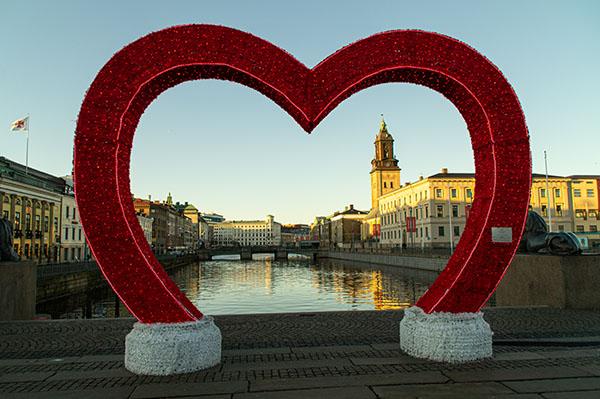 Göteborg mit Herz