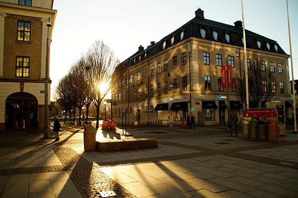 Morgenstimmung in Göteborg