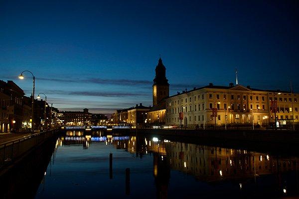 Blaue Stunde in Göteborg