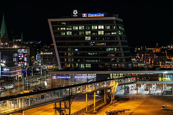 Stenaline in Kiel