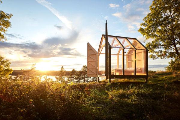 72-Stunden-Hütte / Glashaus in Dalsland