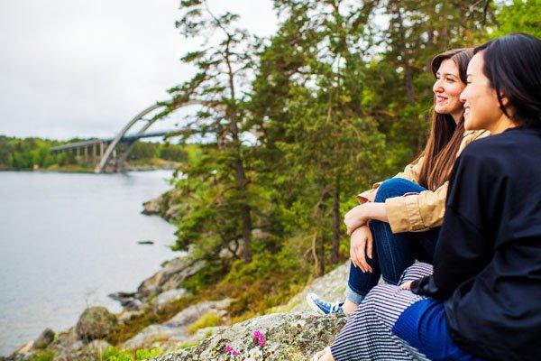 Natur genießen in Schweden