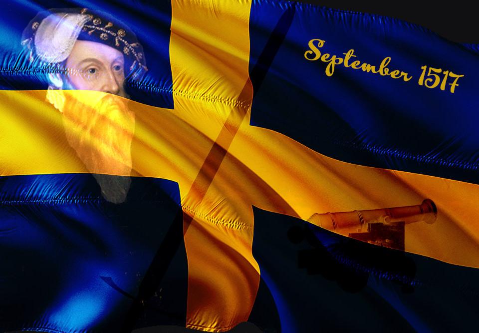 Schweden vor 500 Jahren - Sieg Schwedens bei Vädla