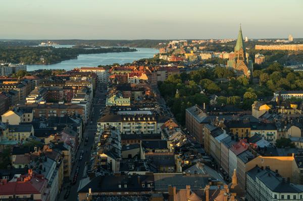 Einer der besten Aussichtspunkte in Stockholm: Bar Himlen