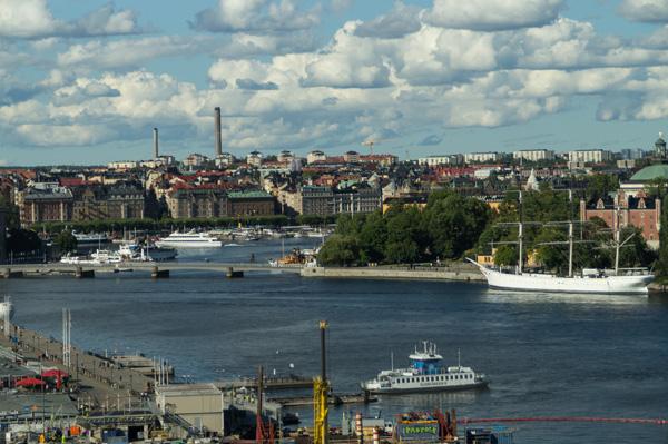 Einer der ältesten Aussichtspunkte in Stockholm: Katarinahissen
