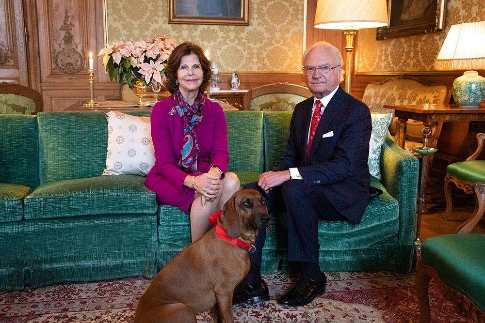 Königin Silvia und König Carl XVI Gustaf von Schweden